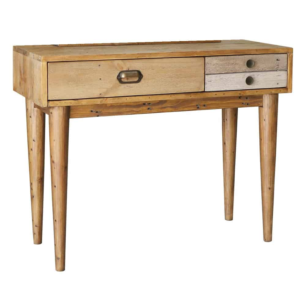 online store 89f28 a23a1 Loft Reclaimed Wood Dressing Table