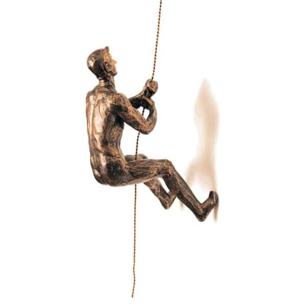 Abseiling Man Copper Www Dmwfurniture Co Uk